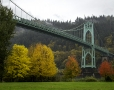 St Johns Bridge in Autumn